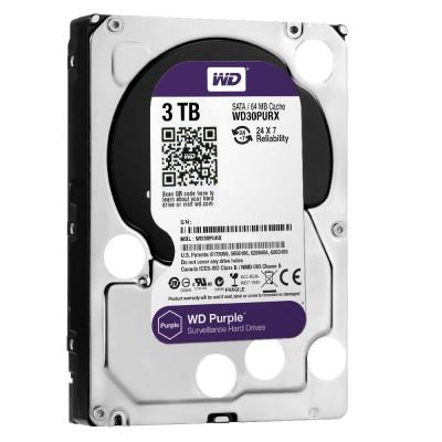 Жорсткий диск Western Digital 3000GB (WD30PURX) Purple