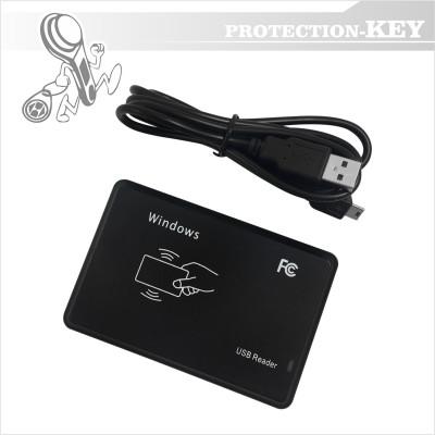 Зчитувач RFID USB 125 KHz + 13.56 MHz PK-03