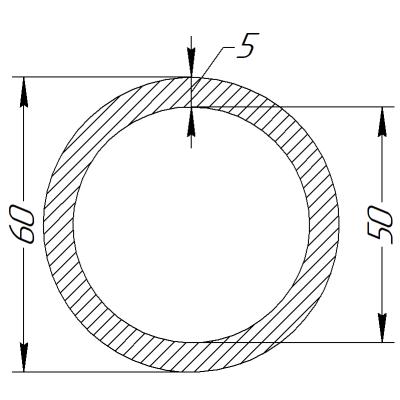 Кільцe металевe суцільне Ø 50 x 5.0 мм