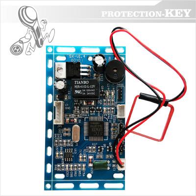 Контролер + зчитувач 125 KHz для прихованого монтажу