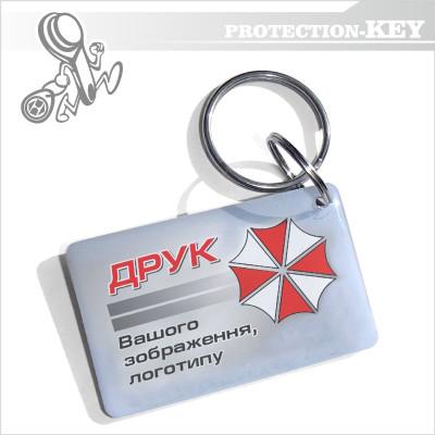 Epoxy-заготовка Т5577 з Вашим логотипом 26*42мм