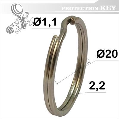 Кільце завідне  Ø 20 x 1,1 мм