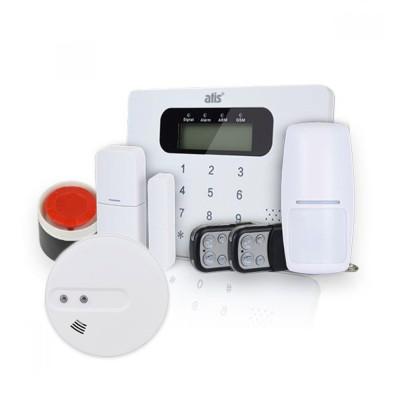 Комплект бездротової GSM сигналізації ATIS Kit GSM 100 + бездротовий датчик диму ATIS 229DW