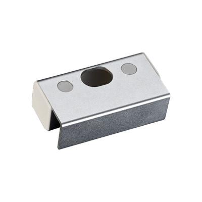 Відповідна алюмінієва планка BBK-601 з кріпленням на скляні двері без рами для замків серії YB-100/200