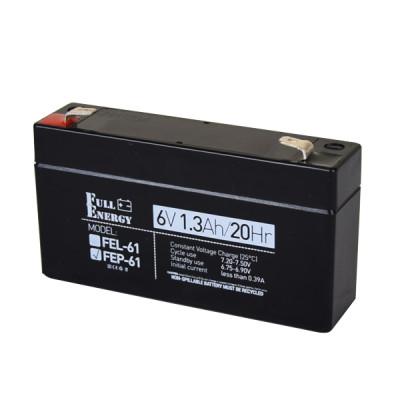 Акумулятор 6В 1.3 Аг для ДБЖ Full Energy FEP-61