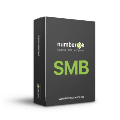 ПЗ для розпізнавання автономерів NumberOK SMB 12 каналів All UA для керування СКУД