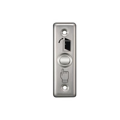 Кнопка виходу Yli Electronic PBK-811A для вузьких дверей