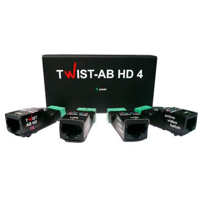 Комплект підсилювачів TWIST AB-HD-4