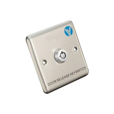 Кнопка виходу з ключем Yli Electronic YKS-850S для системи контролю доступу