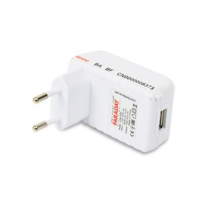 Блок живлення Faraday Electronics 12W/OEM з USB виходом 5 В / 2.4 A