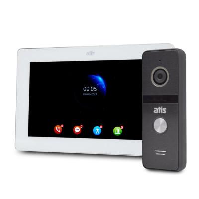 Комплект відеодомофона ATIS AD-770FHD White + AT-400HD Black