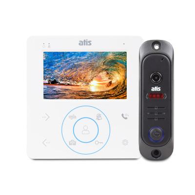 Комплект відеодомофона ATIS AD-480 W Kit box
