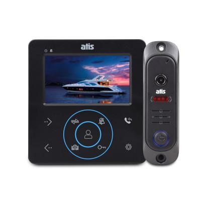 Комплект відеодомофона ATIS AD-480 B Kit box