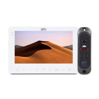 """Комплект відеодомофона ATIS AD-780 W Kit box: відеодомофон 7"""" і відеопанель"""