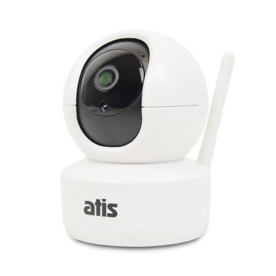 IP-відеокамера поворотна 2 Мп з Wi-Fi ATIS AI-262T для системи відеоспостереження
