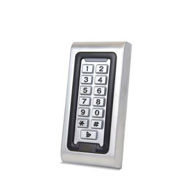 Металева кодова клавіатура зі зчитувачем EM-Marine вологозахищена ATIS AK-601W_v1