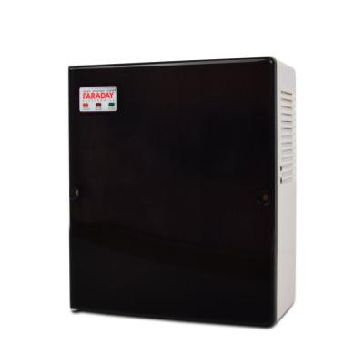 Безперебійний блок живлення Faraday Electronics 85W UPS ASCH PLB під акумулятор 9А/г в пластиковому боксі