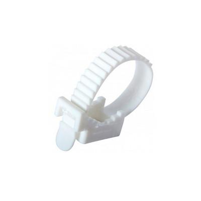 Кріплення ремінне біле Relfix 7 x 80 мм (100 шт/уп)